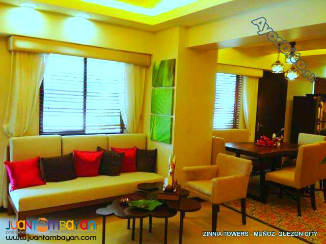 Zinnia Towers Pre Selling High Rise Condo in Munoz QC by DMCI