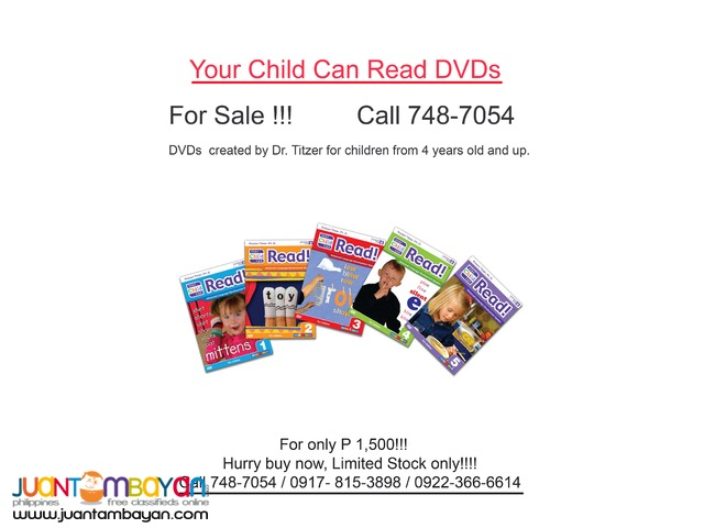 Your Child Can Read, not burned copy, sealed box