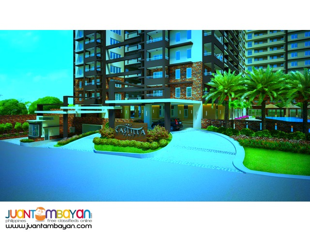 One Castilla Place 1BR Affordable in New Manila