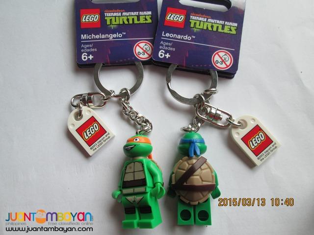 LEGO Ninja turtles Leonardo Keychain