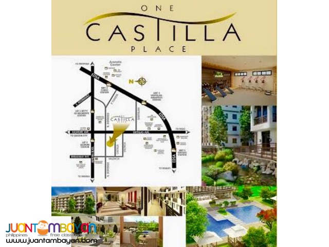 1 Bedroom Condo in Quezon City One Castilla Place