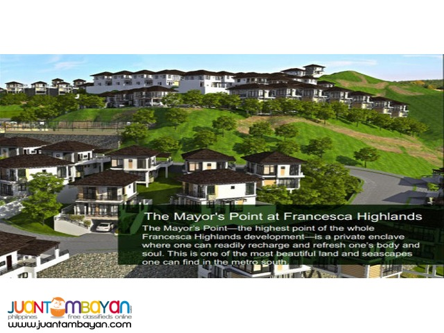 The Francesca Highlands - Melrose SIngle Detached