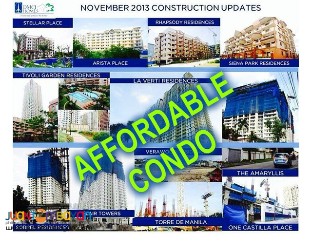 Affordable Pre Selling One Castilla Condo in New Manila