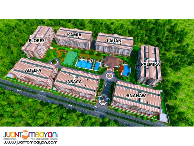 Ivory Wood New Building in Acacia Estate Taguig Mid Rise