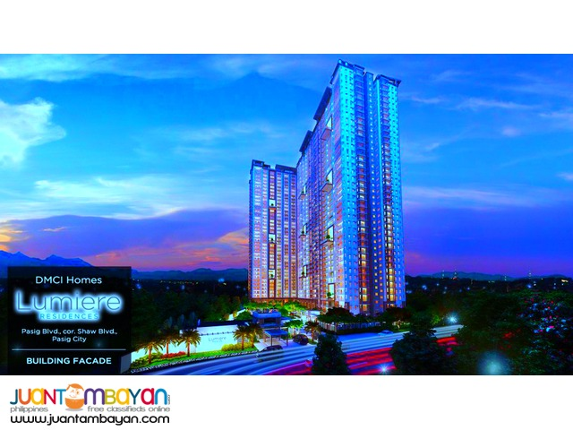 Condo in Pasig near Valle Verde DMCI Lumiere Residences