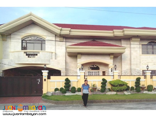 Two Storey House for Sale in San Rafael, Tarlac City. 4 Bedrooms