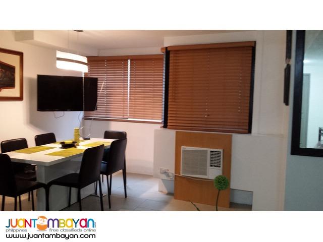 BSATT 2 bedroom furnished w/ parking for rent at Front of Sm Megamal