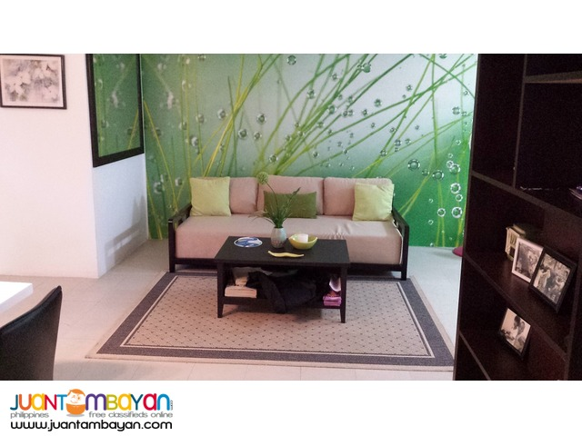 BSATT 2 bedroom furnished w/ parking for rent at Front of Sm Megamal