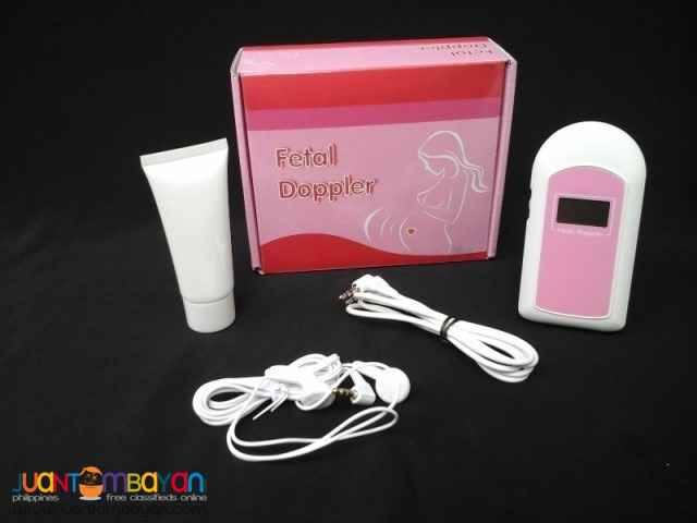 Fetal Doppler with LCD and Headset