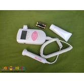 Portable Fetal Doppler 3 Mhz with LCD and built in speaker