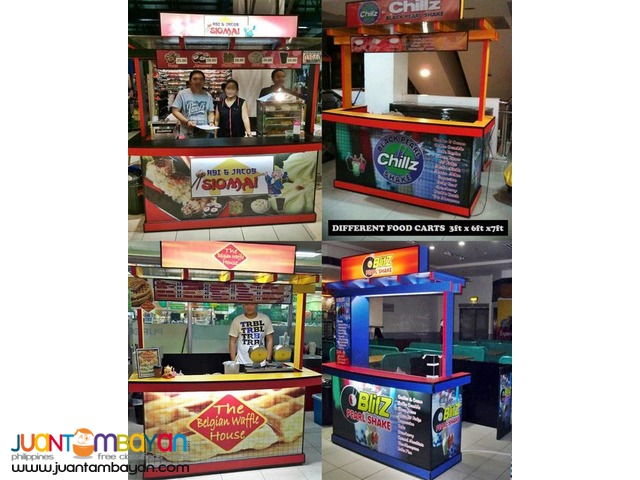 Maker and Fabricator of Carts, Kiosks, Booths, Shops