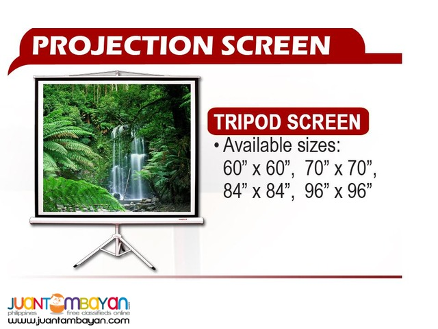 Viewtech Projector Screens ,Tripod,Motorized,Wall
