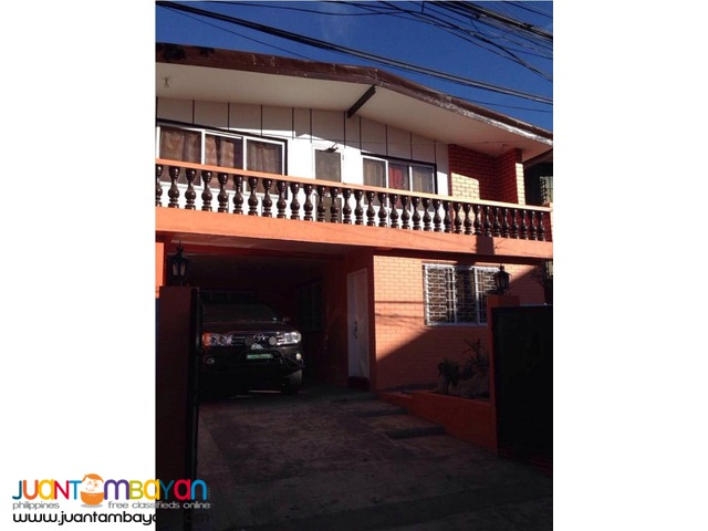 2-Storey House and Lot Fully Furnished in Baguio City
