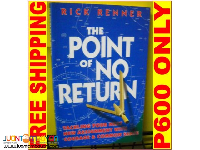 The Point of No Return by Rick Renner