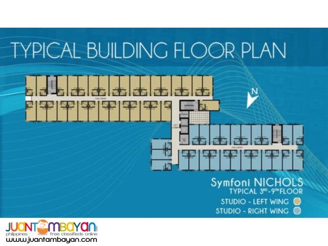 php7,500/mo Condominium in Symfoni at Nichols Guadalupe