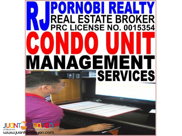 Property Management for Condominium Units in NCR and Luzon