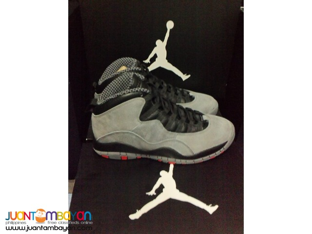 Genuine Air Jordan 10 Infrared Basketball Shoes