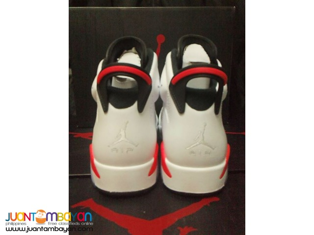 Genuine Air Jordan 6 Infrared Men's Basketball Shoes