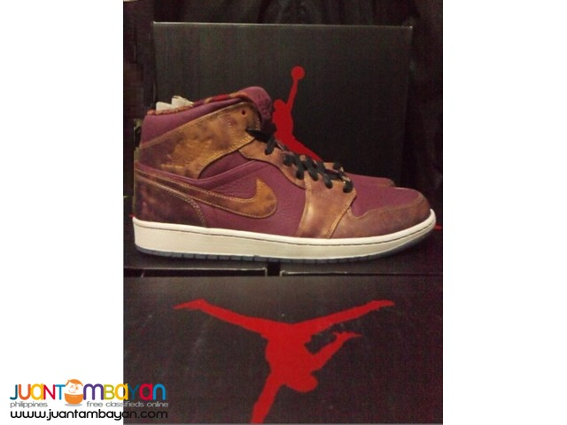 Genuine Air Jordan 1 BHM 2014 WMNS Basketball Shoes