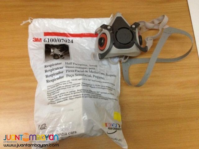 3M Half Facepiece Reusable Respirator 6100(Small), 6200 (Medium)