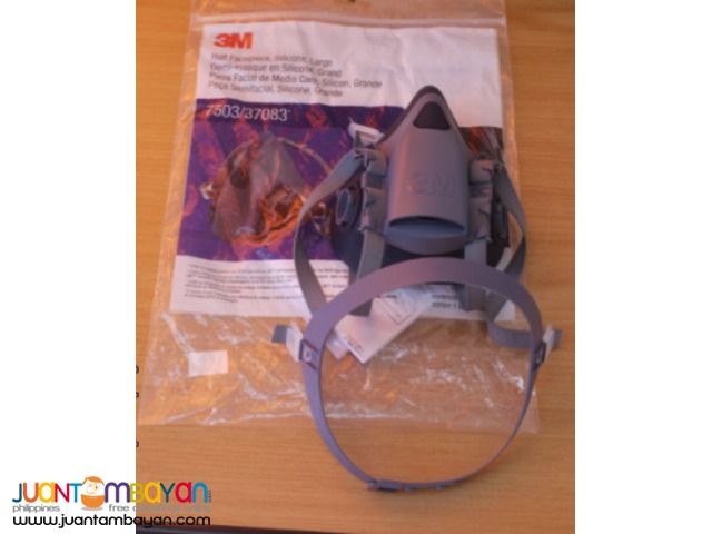 3M 7502 Professional Half Facepiece Respirator (Medium)