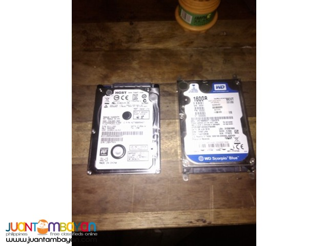 Laptop Hard drive Replacement or Upgrade