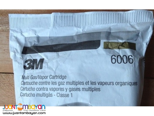 3M Multi Acid Gas, Organic Vapor Cartridge 6006