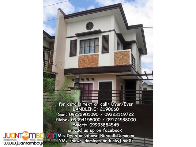 Single attached elegant house thru Pag-ibig, Placid Homes