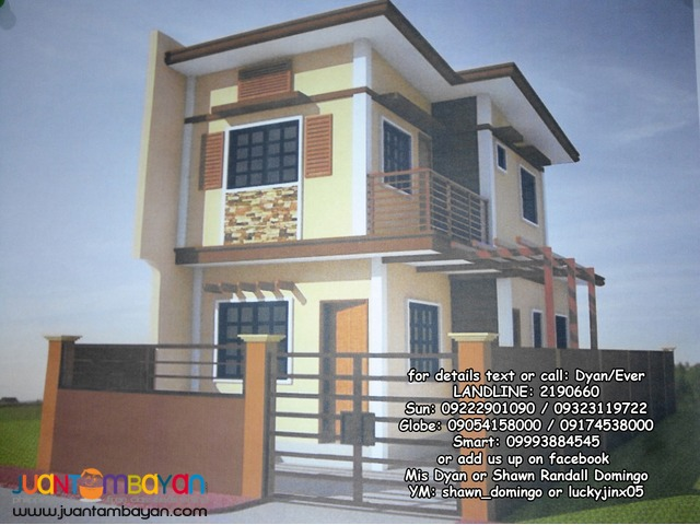Single attached elegant house thru Pag-ibig, Placid Homes