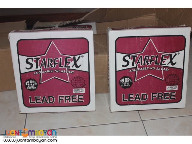 starflex thhn wires cash on delivery in metromanila areas only!!
