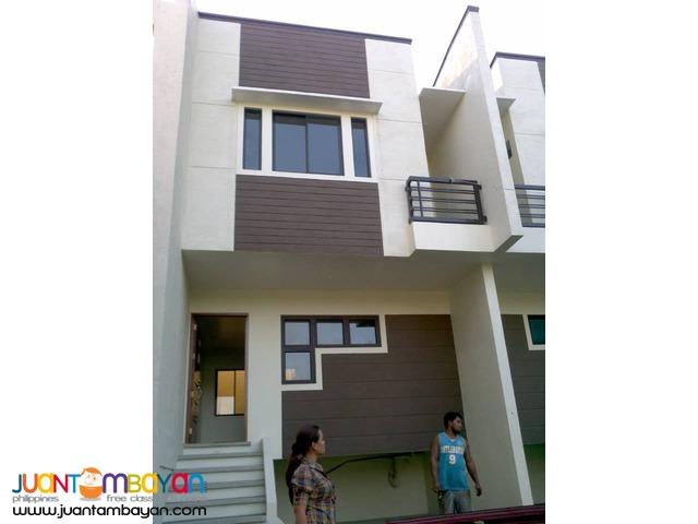 House and lot Crystal homes front of Robinson Marikina at 10% DP
