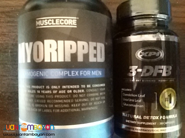 Myoripped Weight loss Shredder For men 60cts + 3-DFB