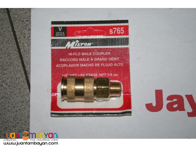 Milton V-Style High Flow Coupler Model S-765 MNPT