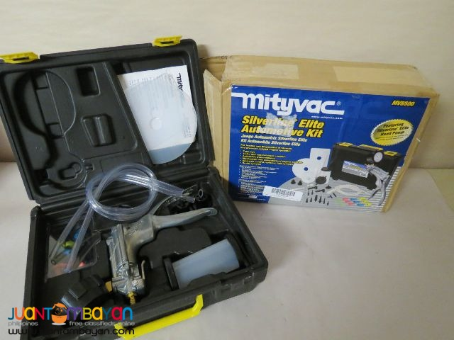 Mityvac Automotive Vacuum Pump Kit MITMV8500 Silverline Elite