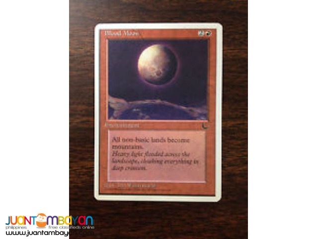 Blood Moon (Magic the Gathering Trading Card Game)