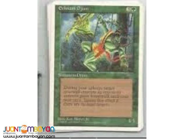 Ernham Djinn (Magic the Gathering Trading Card Game)