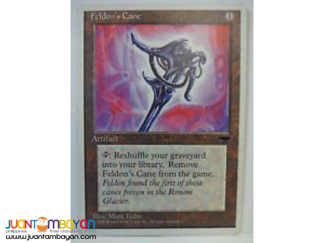 Feldon's Cane (Magic the Gathering Trading Card Game)