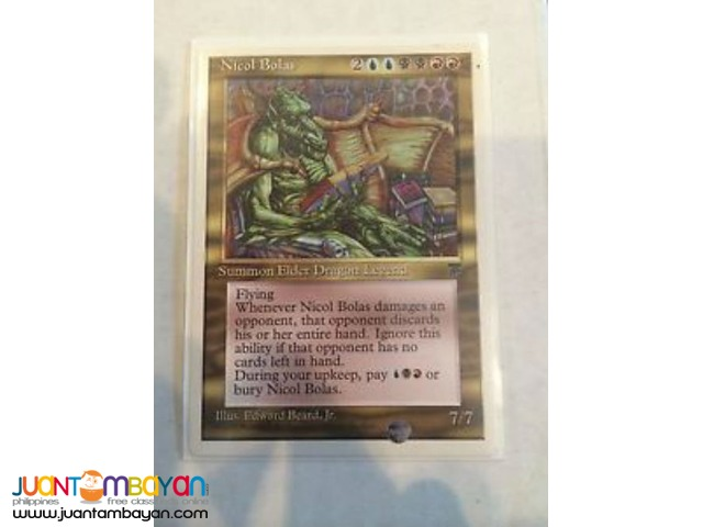 Nicol Bolas (Magic the Gathering Trading Card Game)