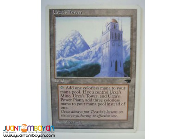Urza's Tower (Magic the Gathering Trading Card Game)