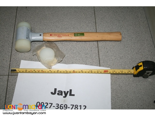 PB Swiss 297-6 Mallets with Plastic Heads