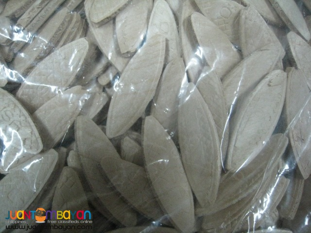 Porter Cable 5554 No. 0 Biscuits - 250 pcs