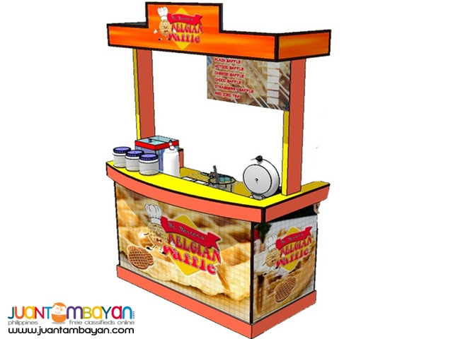 Maker of Quality Food Carts, Food Kiosks and Food Stalls