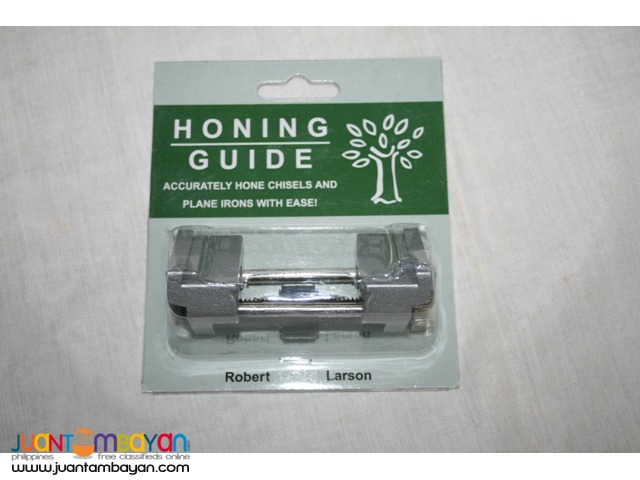 Robert Larson Honing Guide Jig for Chisels and Plane Irons