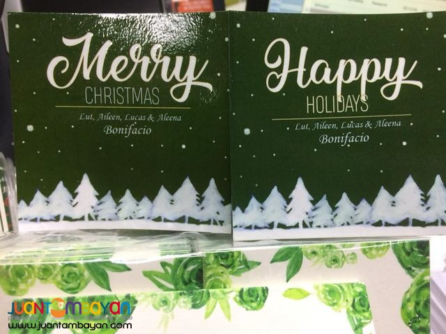 Christmas Gift Tags, Thank You Tags, Gift Wrapper