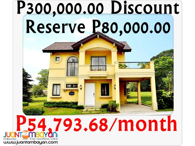 Prestige Emerald House and Lot For Sale at Valenza Laguna