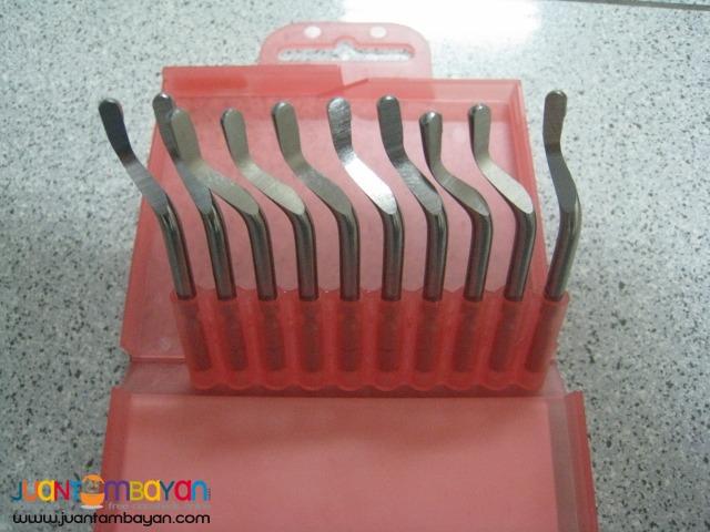 SHAVIV Cobalt Enriched Blades (E100S) (1 pack - 10 pieces)