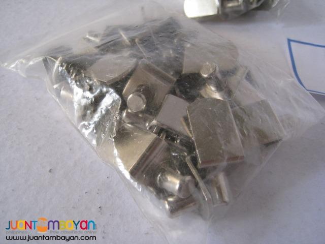 Shelf Support .25-inch Bracket-Style Nickel (25 pieces)