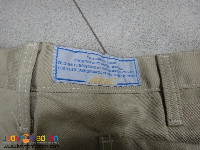 Skillers Work Shorts Size 38 Waist Khaki