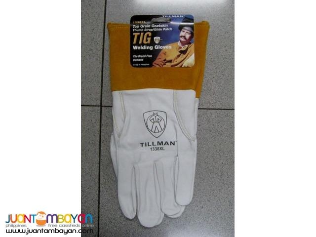 Tillman 1338 Top Grain Goatskin TIG Welding Gloves