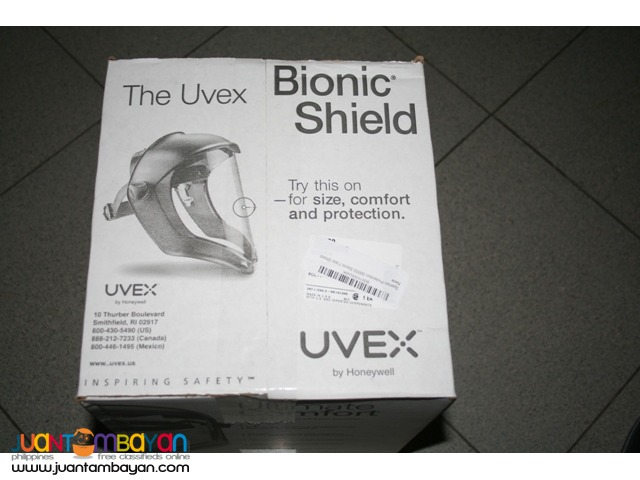 Uvex Sperian Protection Bionic Face Shield - USA